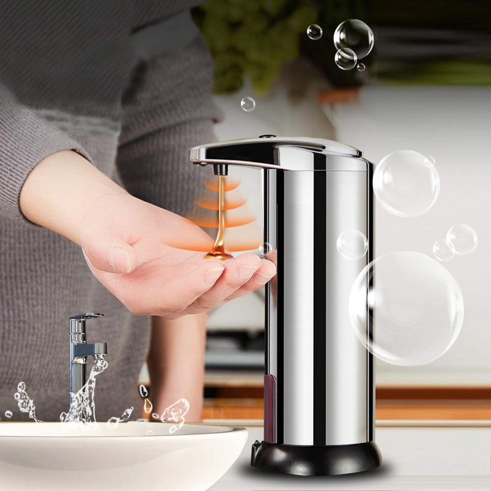 莫菲思 全自動感應式不鏽鋼給皂機/洗手機