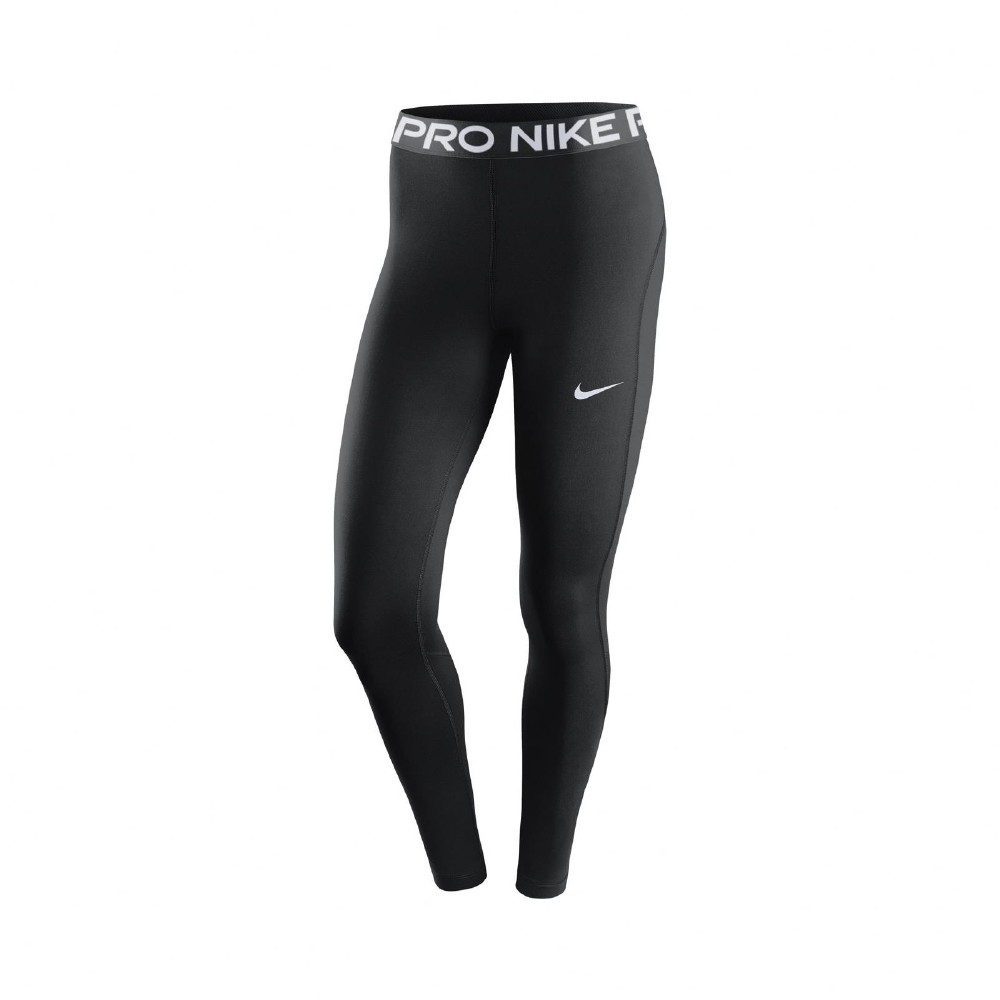 Nike 緊身褲 Pro Tights 運動 內搭 女款 健身 重訓 路跑 瑜珈 網紗 黑 白 CZ9780010