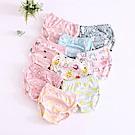 JoyNa 6層紗嬰兒尿布褲 鬆緊隔尿褲-6件入