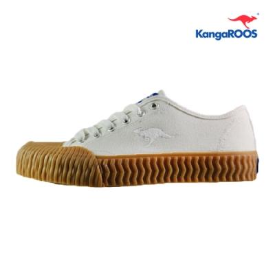 KangaROOS CRUST 女休閒帆布餅乾鞋 白 KW91279