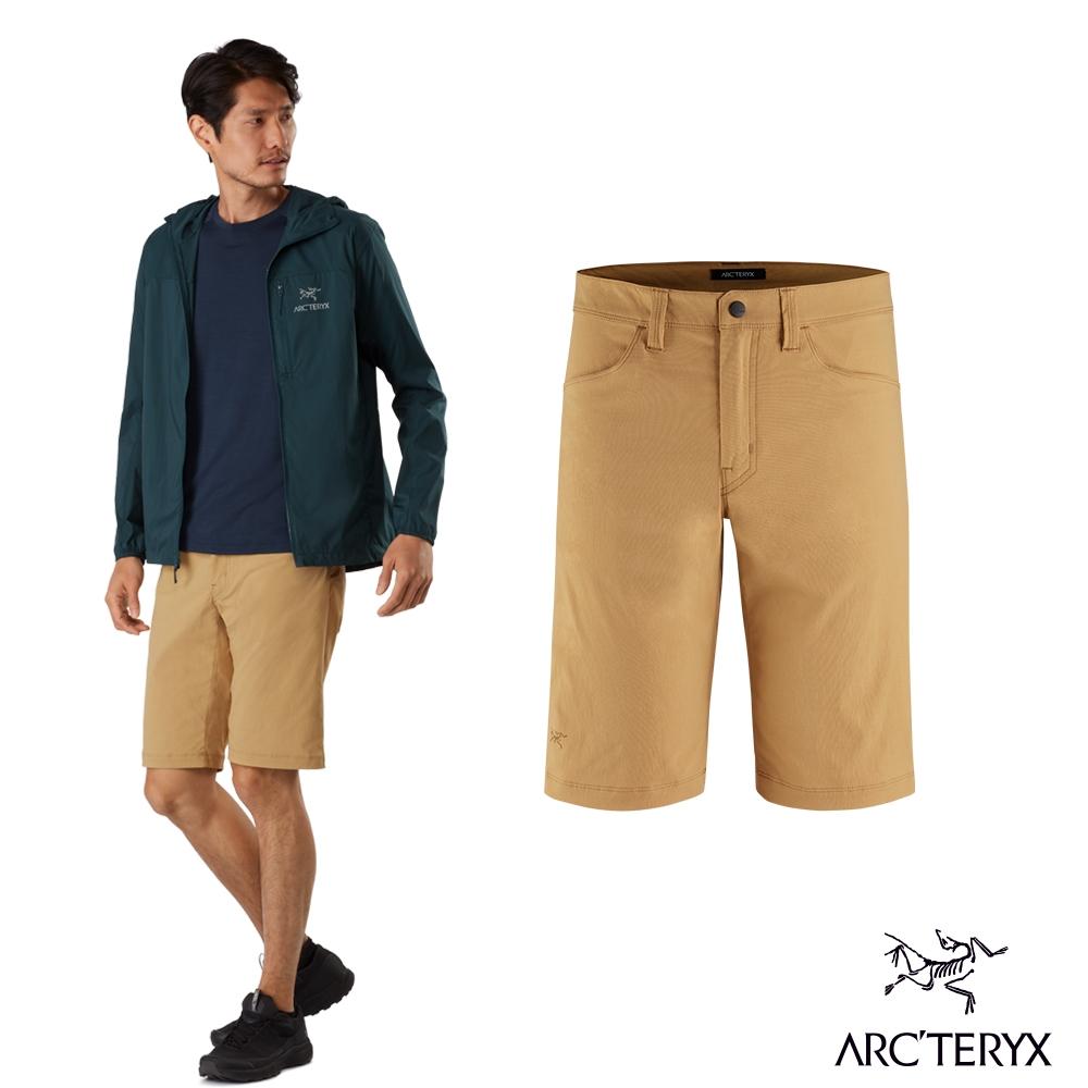 Arcteryx 始祖鳥 男 24系列 Russet 休閒短褲 穆圖黃
