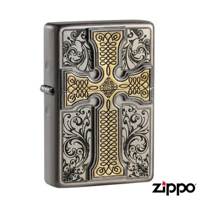 美系Zippo 十字教典CREDOS EMBLEM-浮雕防風打火機#ZA-1-59d