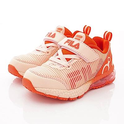 FILA頂級童鞋 穩定支撐氣墊款 EI29S-522粉紅(中大童段)