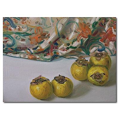 橙品油畫布-單聯式橫幅 掛畫無框畫-典雅-40x30cm