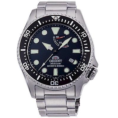 ORIENT東方錶WATER RESISTANT系列200米潛水腕錶-RA-EL0001B