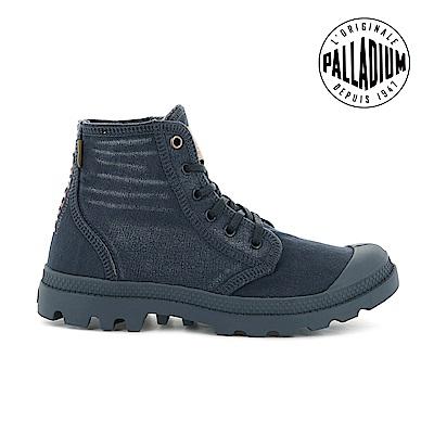 Palladium  PALLADENIM單寧帆布靴-女-牛仔藍