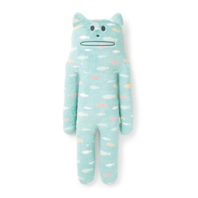 CRAFTHOLIC 宇宙人 海洋魚兒貓大抱枕