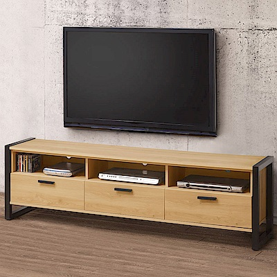 Homelike 東理6尺電視櫃-180x40x55cm