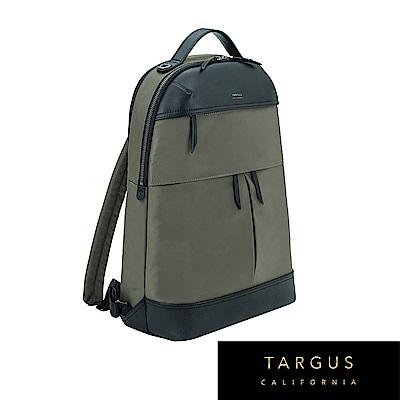 Targus Newport 時尚電腦後背包 (橄欖綠/15吋筆電適用)