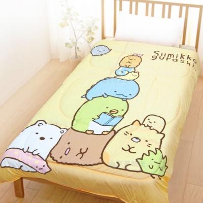 享夢城堡 超柔暖暖毯被150x195cm-角落小夥伴 放空日-黃