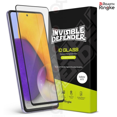【Ringke】三星 Samsung Galaxy A72 [ID Glass] 強化玻璃滿版螢幕保護貼