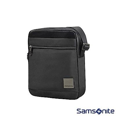 Samsonite新秀麗 Hip-Square輕量尼龍斜肩包7.9 (黑)