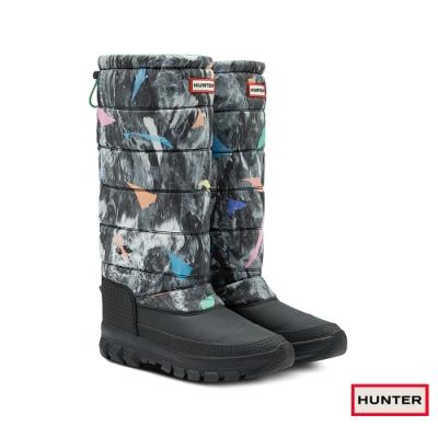 HUNTER - 女鞋 - 長筒雪靴 - 綠