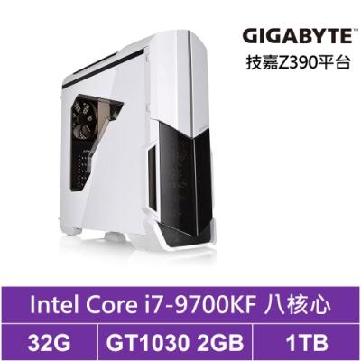 技嘉Z390平台[東海兵長]i7八核GT1030獨顯電玩機