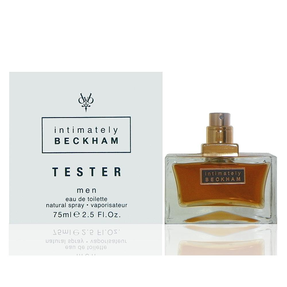 David Beckham Intimately迷人小貝男性淡香水75ml Test 包裝