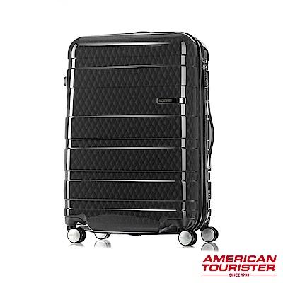 AT美國旅行者 29吋HS MV+ Deluxe時尚硬殼飛機輪可擴充TSA行李箱(幾何黑)