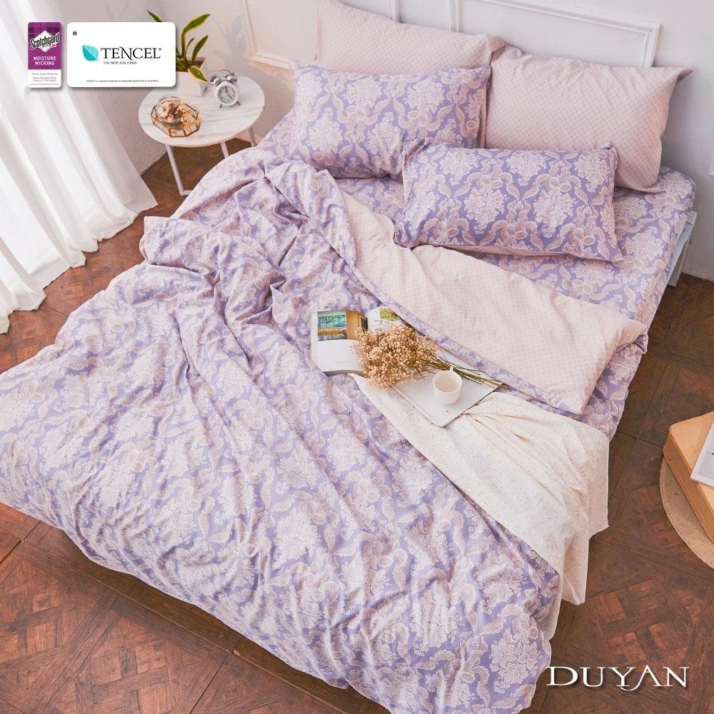 (均一價)DUYAN竹漾-3M吸濕排汗奧地利天絲-單/雙/大床包枕套組-多款任選 台灣製 (采爾的教堂)