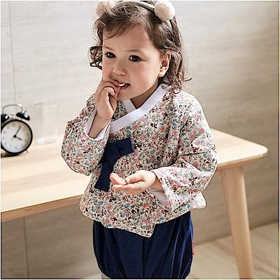 baby童衣 女寶寶復古韓服包屁衣套裝 82032