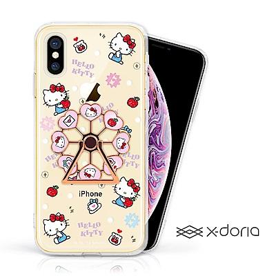 iPhone Xs Max HelloKitty 摩天輪旋轉指環背蓋 - 蘋果樂園