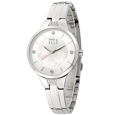 ELLE 四季魅力不鏽鋼腕錶-時尚銀/32mm