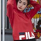 FILA #東京企劃-原宿篇 連帽T恤-紅 5TES-5437-RD