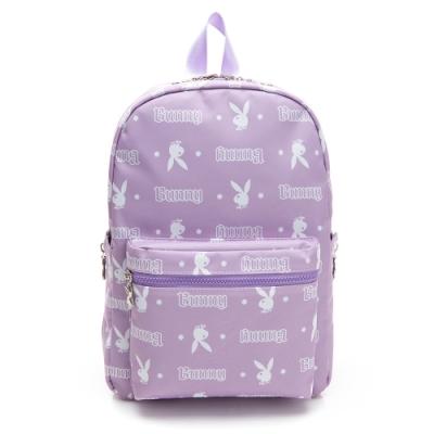 PLAYBOY-  後背包 翻轉兔系列 -粉紫色