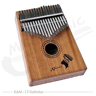 NAMAS 卡林巴 17音全單桃花心木 拇指琴(KAM-17)KALIMBA