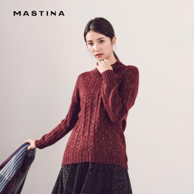 【MASTINA】韓系麻花編織風-針織衫(二色)