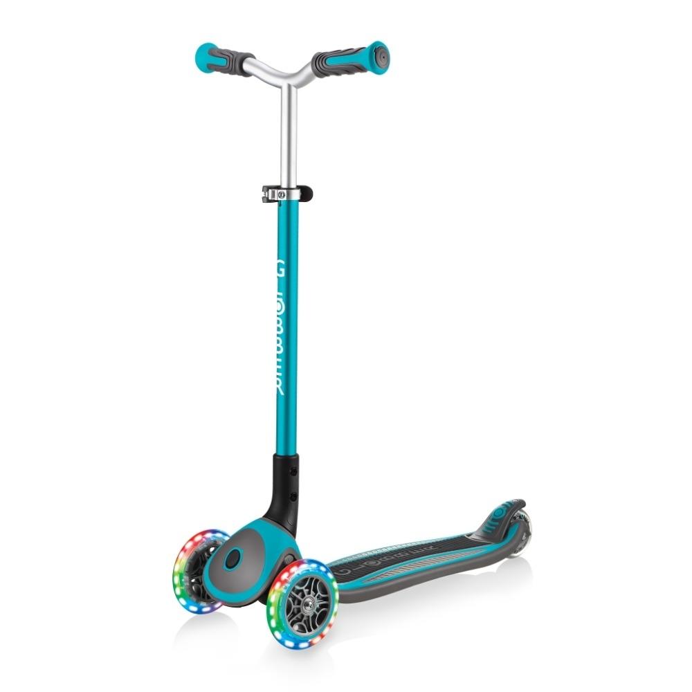 DF 童趣館-法國GLOBBER哥輪步兒童2合1三輪摺疊滑板車大師版-共2色