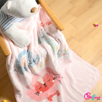 英柏絲 超柔雙層加厚雪花絨 兒童保暖毯 105x135cm 多種款式 小朋友毯