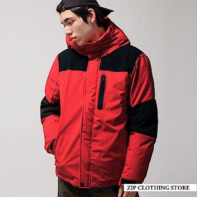 防潑水防風鋪棉夾克外套(6色) ZIP日本男裝
