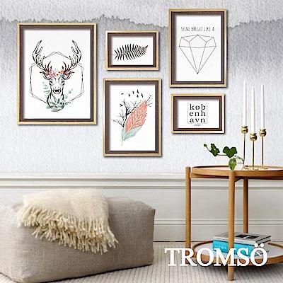 TROMSO 風格北歐海報5框相框牆
