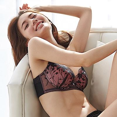 蕾黛絲-春日蔓蔓順型靠過來 D-E罩杯內衣 玫麗黑