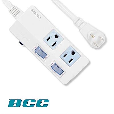 BCC FC152 2切2插延長線