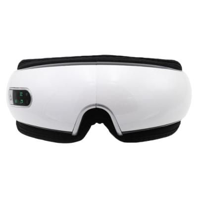 【X-BIKE 晨昌】智能眼部按摩器 氣壓/恆溫/熱敷/震動/柔按/語音提示/手機連接播放 (可折疊) MAS-T111