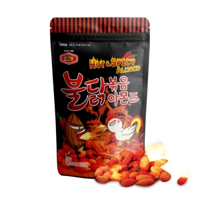 韓國Murgerbon 辣雞風味炒杏仁果 (210g)