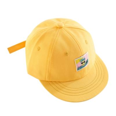 Baby童衣 韓版純色男女童平沿棒球帽 防曬帽鴨舌帽 88286