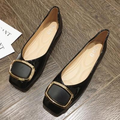 KEITH-WILL時尚鞋館 賣瘋了活力甜心平底鞋-黑