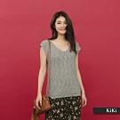 【KiKi】MIT台灣製 質感-針織衫(二色)