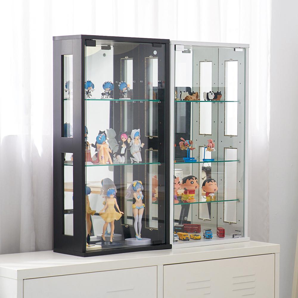 凱堡 模型櫃 展示櫃 收納櫃 直立式80cm 公仔展示櫃 40x20x80 product image 1