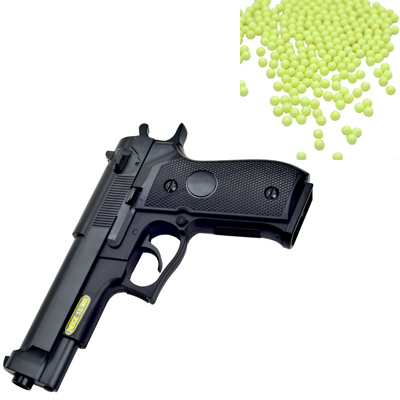 M92造型6mm彈徑手拉式空氣BB槍+0.12G高精密研磨 BB彈