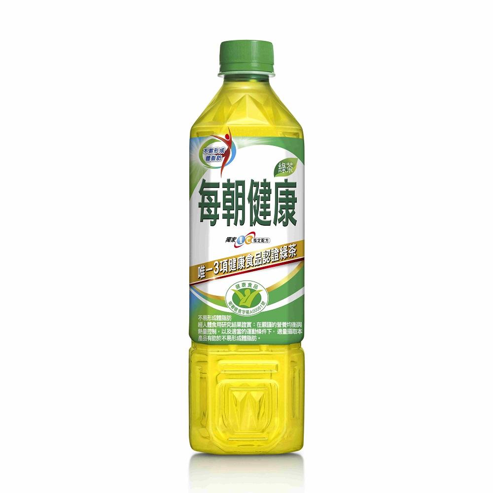 每朝健康無糖綠茶(650mlx4入)
