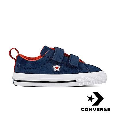 Converse 嬰幼休閒鞋-760009C 藍