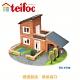 【德國teifoc】DIY益智磚塊建築玩具 - 車庫別墅(TEI4700) product thumbnail 1