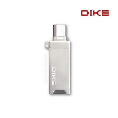 DIKE Type-C 隱藏型雙頭OTG讀卡碟 DAO102
