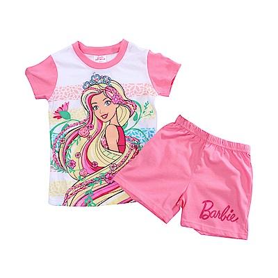 芭比純棉防蚊布短袖套裝 k51215 魔法Baby