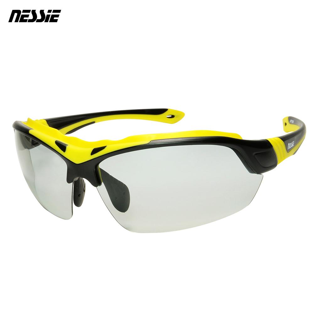 Nessie尼斯眼鏡 專業運動變色偏光太陽眼鏡-大黃蜂