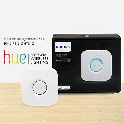 【飛利浦 PHILIPS LIGHTING】Hue無線智慧照明 橋接器 2.0 版
