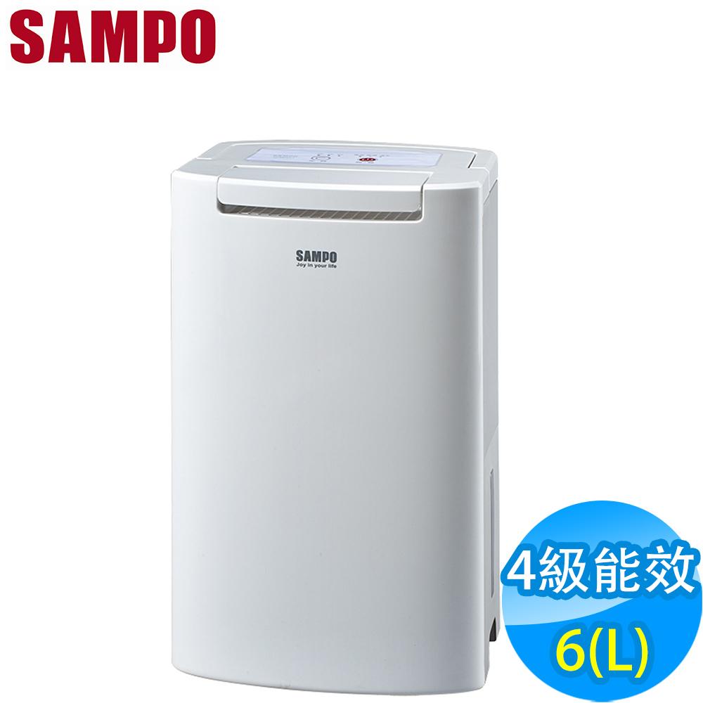 福利品 SAMPO聲寶 6L 空氣清淨除濕機 AD-BM121FT
