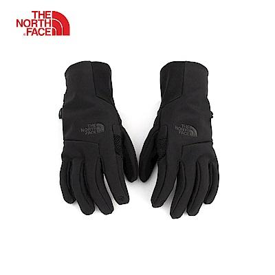 The North Face北面女款黑色保暖防風可觸屏手套|3KPRJK3